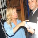 Sienna Miller – Leaves the Apollo Theatre in London - 454 x 587