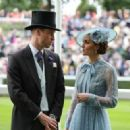 The Duke And Duchess Of Cambridge  attended the first day of Royal Ascot Day 2019 - 454 x 323