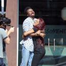 Keke Palmer – Filming a scene for 'AwesomenessTV' in Los Angeles