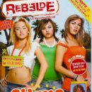Grisel Margarita, Estefania Villarreal, Angelique Boyer, Rebelde - rebelde Magazine Cover [Mexico] (March 2006)