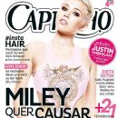 Miley Cyrus - Capricho Magazine Cover [Brazil] (8 September 2013)