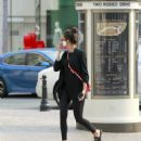 Nina Dobrev on Rodeo Drive in Beverly Hills