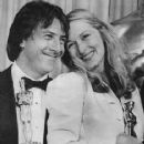 Dustin Hoffman and Meryl Strepp at the 52nd annual Academy Awards show in Los Angeles, California, on April 14, 1980.