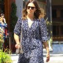 Mandy Moore in Long Dress out in Beverly Hills - 454 x 681