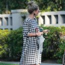 Rebecca Gayheart – Leaving a friend's place in Los Angeles