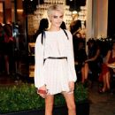 Cara Delevingne – Longchamp Fifth Avenue Store Oopening in NY