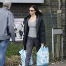 Lucy Mecklenburgh – Shopping at Co-op in Essex