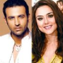 Gaurav Chanana and Preity Zinta
