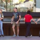 Stella Maxwell – Leaves Cafe Gratitude in Los Angeles - 454 x 303