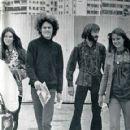 Reine Stewart, Micky Dolenz, Peter Tork and Samantha Juste