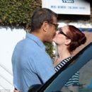 Jeff Goldblum and Lydia Hearst