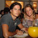 Nelson Piquet and Helena Bordon