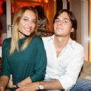 Nelson Piquet and Poliana Soares