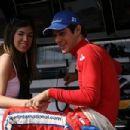 Bruno Senna and Veridiana Alves de Lima