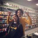 Eric André and Rosario Dawson