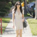 Jessica Gomes in mini dress out in Beverly Hills - 454 x 642