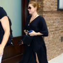 Amy Adams – Returning to the Greenwich Hotel in New York - 454 x 681