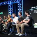 Eliza Coupe – 'Future Man' TV Show Panel at 2017 TCA Summer Press Tour in LA - 454 x 303