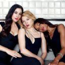 Naomie Harris, Monica Bellucci, Léa Seydoux - Vanity Fair Magazine Pictorial [United States] (November 2015) - 454 x 308