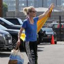 Anne Heche – Poses up for the cameras in Los Angeles