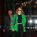 Gigi Hadid – Leaves Royal Monceau Hotel in Paris