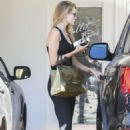 Rosie Huntington Whiteley In Tights At A Gym In West Hollywood