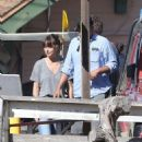 Dakota Johnson – Films scenes for 'Covers' all over Catalina Island