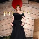 Christina Hendericks at Poppy for a Golden Globes After Party in LA - 454 x 685