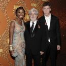 George Lucas and Mellody Hobson - 366 x 512