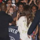 Selena Gomez meets her fans Outside the Rogers Arena in Vancouver Canada May 14, 2016