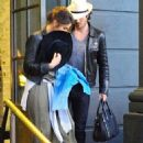 Nikki Reed and Ian Somerhalder  Out in Brentwood January 9,2015
