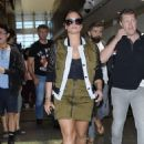 Demi Lovato at the LAX airport in Los Angeles - 454 x 663