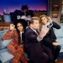 Janelle Monae and Gisele Bündchen - The Late Late Show with James Corden (December 2018) - 454 x 303