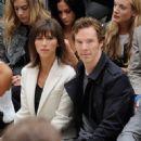 Benedict Cumberbatch-September 21, 2015-Burberry Womenswear Spring/Summer 2016 - Front Row & Runway - 452 x 600
