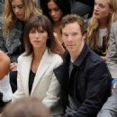 Benedict Cumberbatch-September 21, 2015-Burberry Womenswear Spring/Summer 2016 - Front Row & Runway