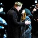 Elizabeth Olsen and Paul Bettany