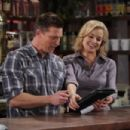 Jessica Collins and Steve Burton