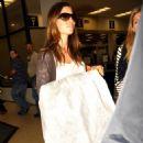 Jessica Biel Arrives At The Airport In Miami, 22 April 2010