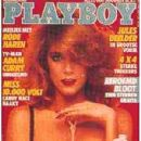 Charlotte Kemp - Playboy Magazine Cover [Netherlands] (April 1987)