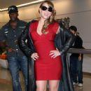 Mariah Carey - Arrives At Narita International Airport In Japan, 2009-10-15