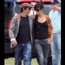 Alejandro Sanz and Valeria Rivera