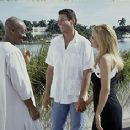 Eddie Murphy, Jeff Goldblum and Kelly Preston in Touchstone's Holy Man - 1998