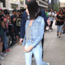 Mila Kunis in Jeans – Heads out to promote her new movie in NYC
