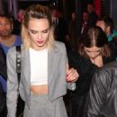 Ashley Benson and Cara Delevingne – Arrives at Cara Delevingne x Nasty Gal Launch Party in London