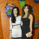 Catherine Fulop at the Kid's Choice Awards Argentina