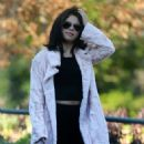 Selena Gomez Street Style Out In Atlanta