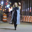 Suki Waterhouse – Late Night Photoshoot in New York February 6, 2017
