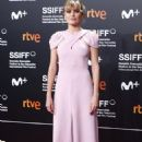 Marta Nieto wears Delpozo  dress :  Closure Day - 67th San Sebastian Film Festival
