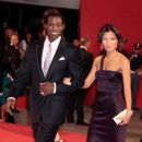 Nikki Park and Wesley Snipes