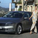 Lena Gercke Presentation Of Vw Passat In Sardinia